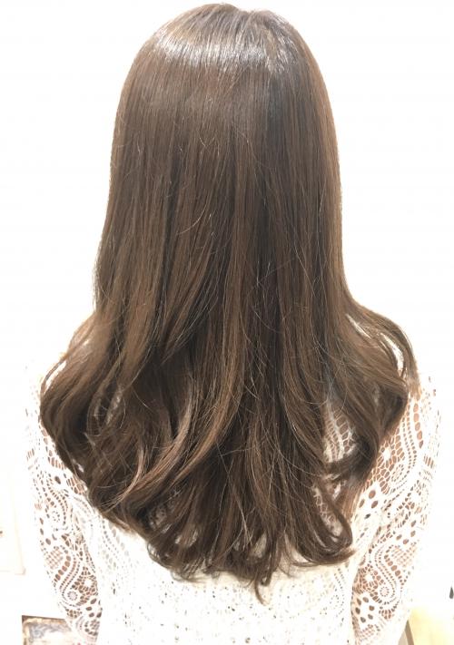 人気ヘアスタイルカラーアッシュ髪型調布美容院