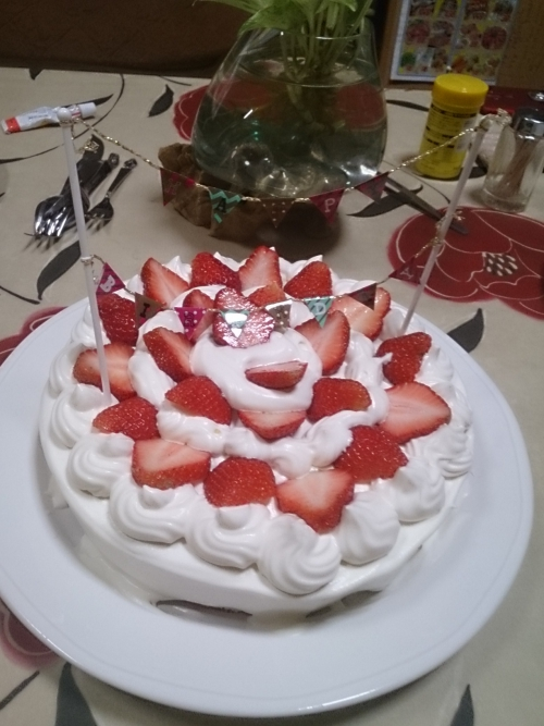 今日は娘の誕生日(*^-^*)