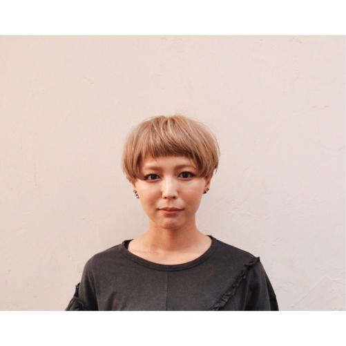 代官山 美容室 / ショート ボブ ブリーチ ヘア
