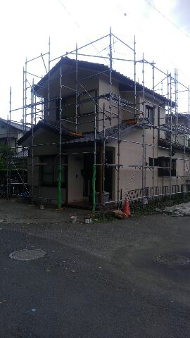 春日部市住宅塗装