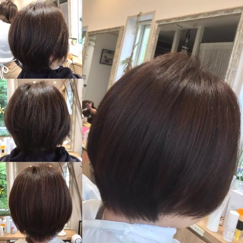 クセ広がり収めたいヘアスタイル髪型調布美容院