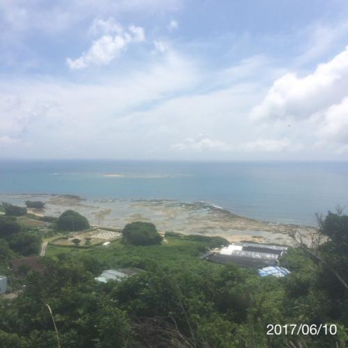 沖縄南城 知念の海