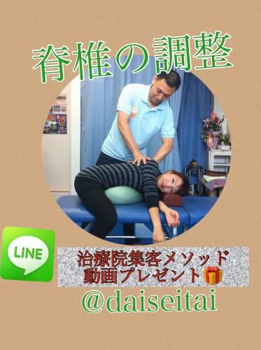 セラピスト整体セミナー 脊椎の調整法を導入