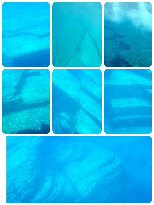 海底遺跡!