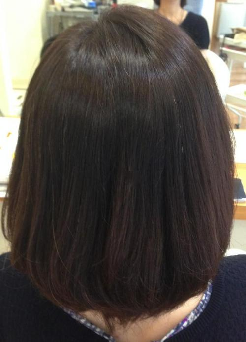 髪にやさしい酸性縮毛矯正