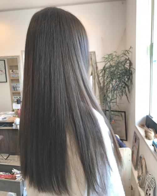 シルバーベージュカラー☆  調布美容院