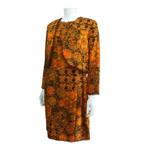 着物からリメイクしたボレロ&ワンピース