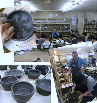 集中講座 備前すり鉢を開催しました。陶芸教室 国立けんぼう窯