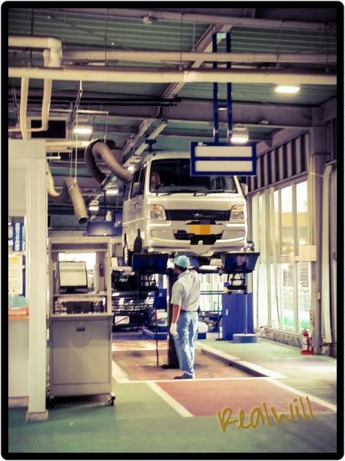スバル サンバーバンの車検登録