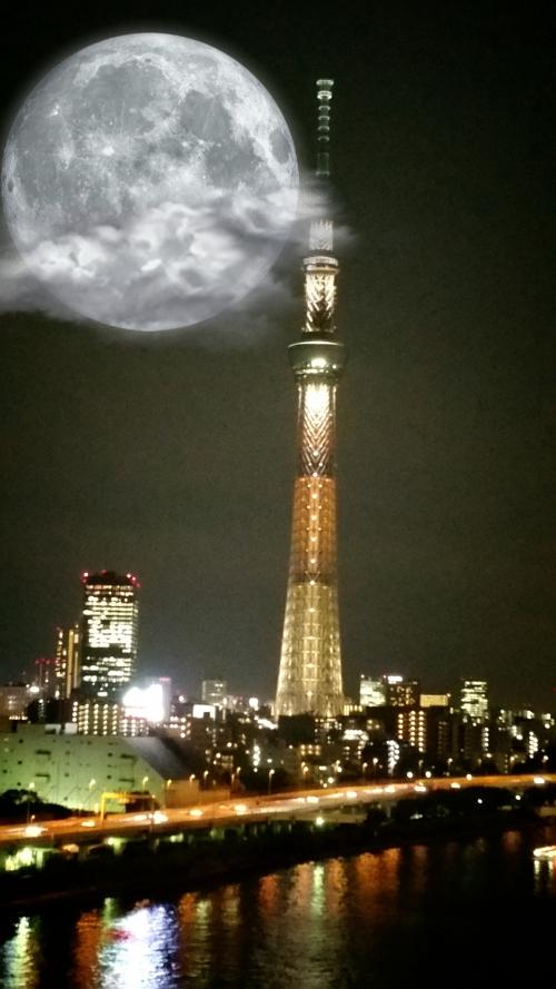 8月8日満月ですよ(*^ー^)ノ♪