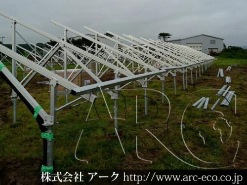 「日高町」太陽光工事現場情報を更新!