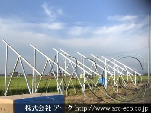 「浦臼町」太陽光工事現場情報を更新!
