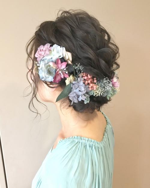 ウェディングフォト ウェディングヘア 結婚式 前撮り