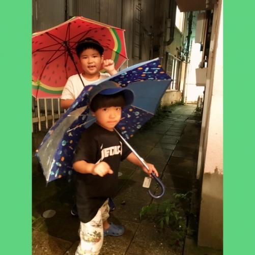ゲリラ豪雨の中!! 代官山 美容室