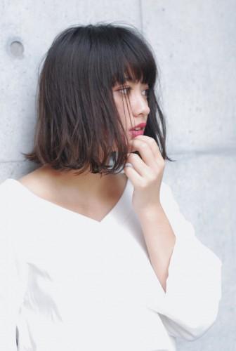 切りっぱなしボブ 【 ニシムラ カナ 】