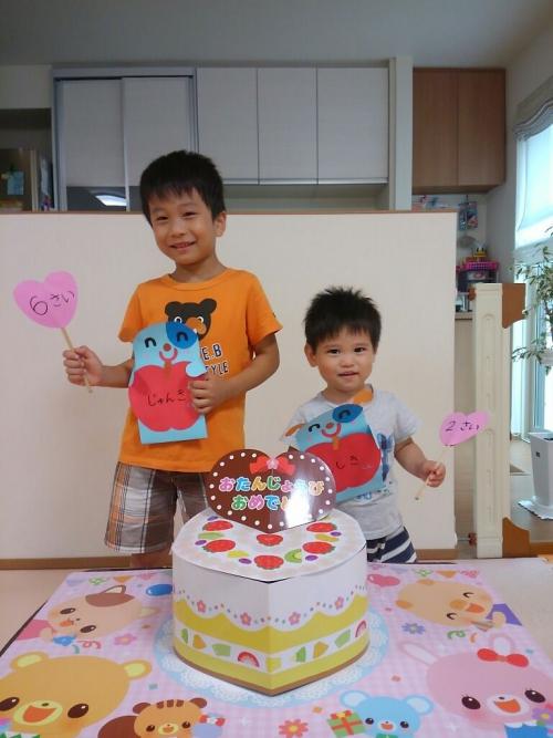 ファミリー託児所☆8月のお誕生日