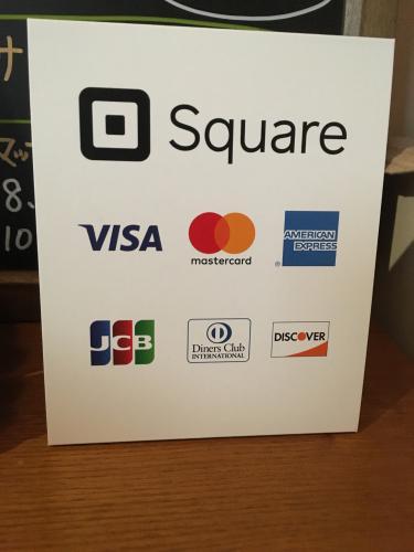 使えるクレジットカードが増えました。