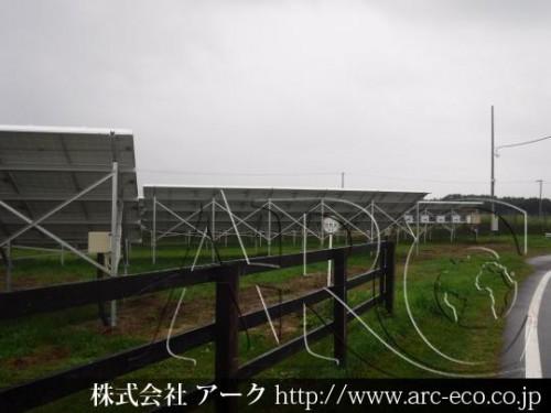 「日高町」太陽光工事現場情報を更新!太陽光パネル機器設置完了