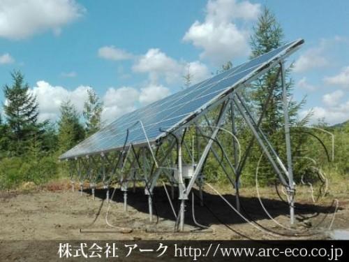 産業用太陽光発電続々稼動!函館市太陽光発電低圧工事中です!