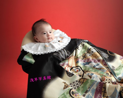 お宮参り・お子様の最初の1枚は浅草写真館の1枚から!