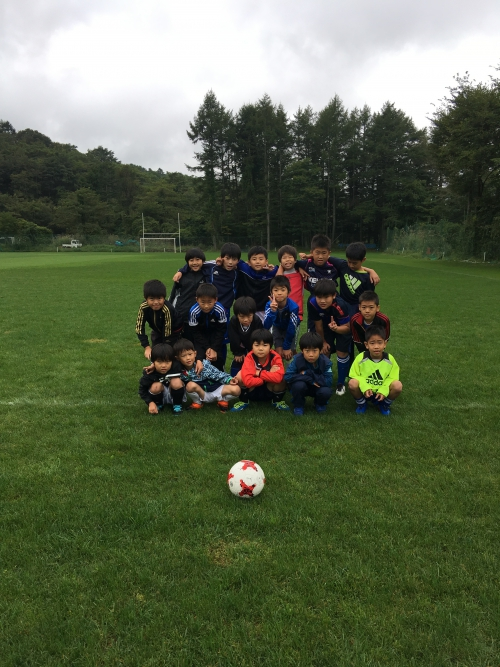 サッカー強化合宿