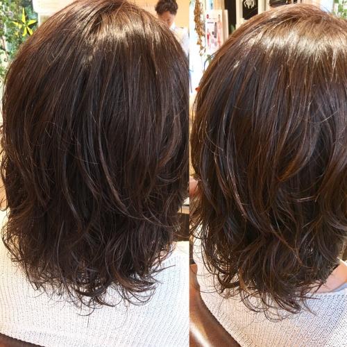 調布美容院おすすめ人気ヘアスタイルパーマ髪型