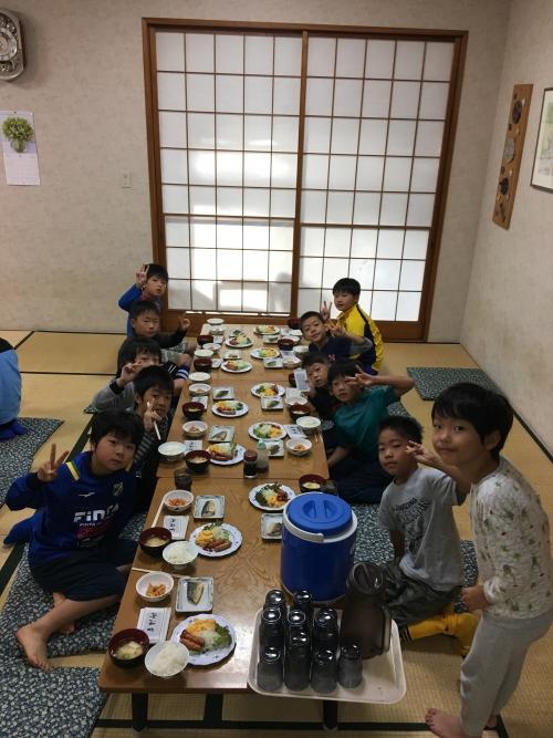 サッカー強化合宿3 日目