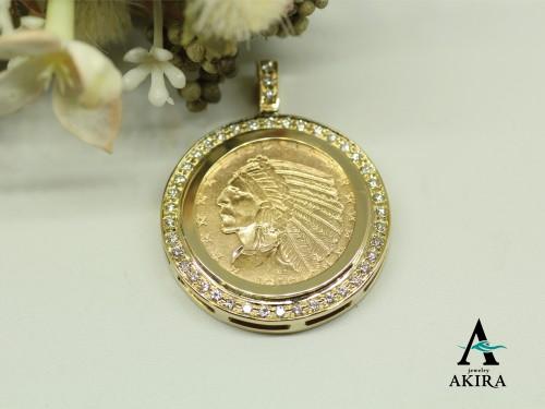 インディアンコイン5ドルのご注文と枠のオーダーメイド