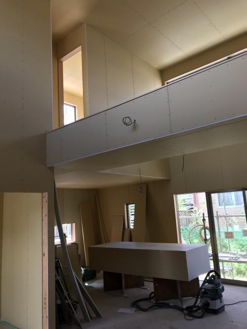 鳥栖青葉台の住宅。内装工事。