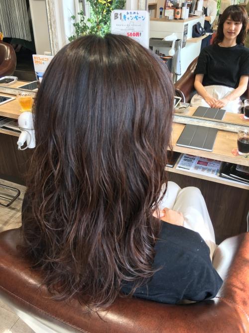人気デジタルパーマヘアスタイル調布美容院髪型