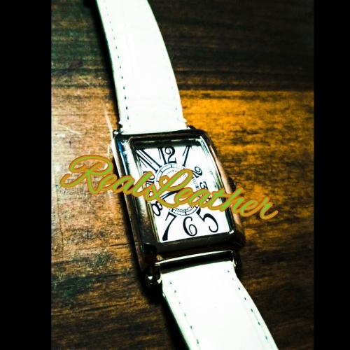 時計のリメイク☆REAL LEATHERリアルレザー