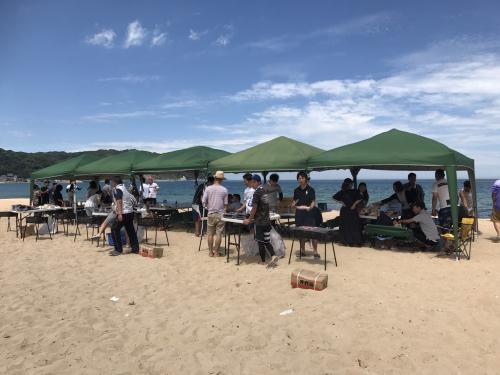 志賀島でご利用頂きました(^O^)