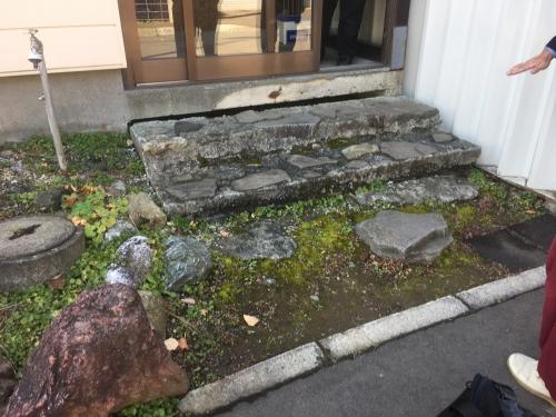 リフォーム工房楽人  江別市玄関前の階段修復