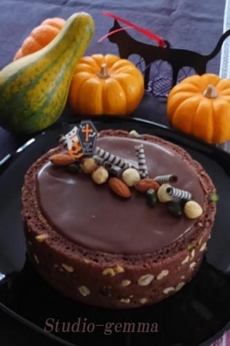 黒い魔法という名のケーキ