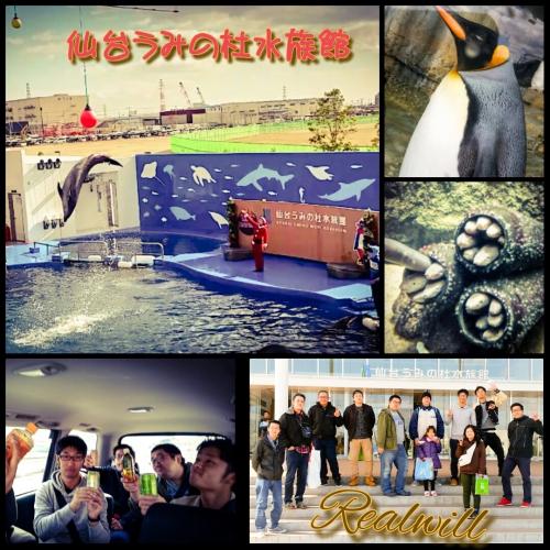 仙台うみの杜水族館行ってきました