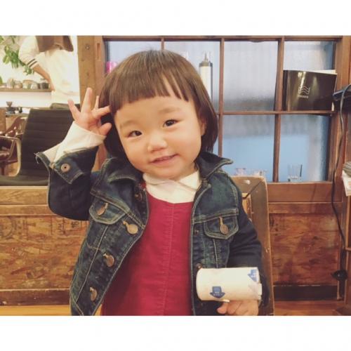 キッズカット 1歳半 / 代官山 美容室