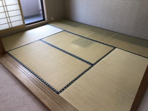 札幌市リフォーム工房楽人 畳表替え