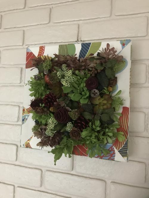 展示会作品「植物標本」