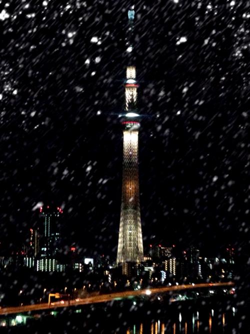 東京も急に冷え込みました(^^)