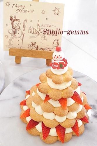 クリスマスケーキ、ワクワクします!