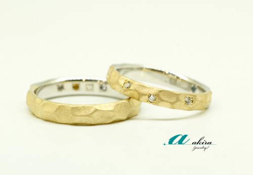 結婚10周年の記念にオーダーメイドの結婚指輪
