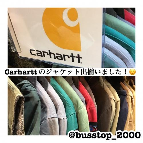 Carharttのジャケット出揃いました
