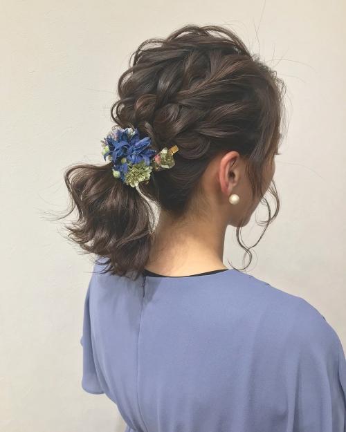 brambly ciim髪飾り アーティフィシャルフラワー