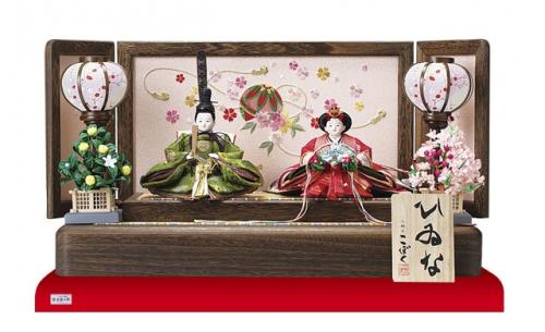 小木人形店で一番コンパクトなお飾り