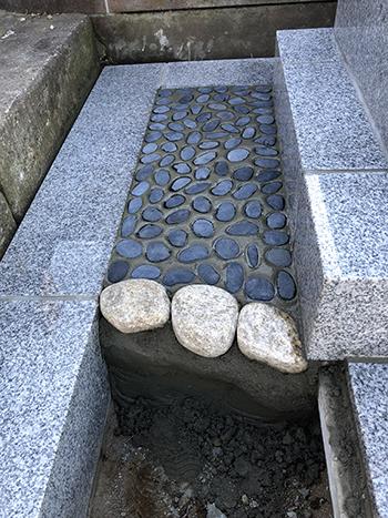 久保山墓地 ナチ玉コンクリート