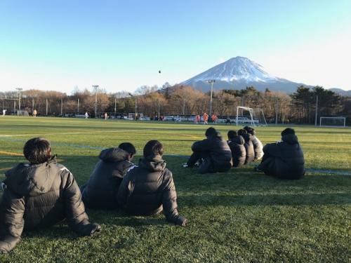 FCVIALA冬合宿3日目決勝前です