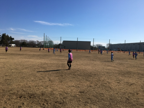 U13・LADIES 練習試合vsPELADA、境トリニタス