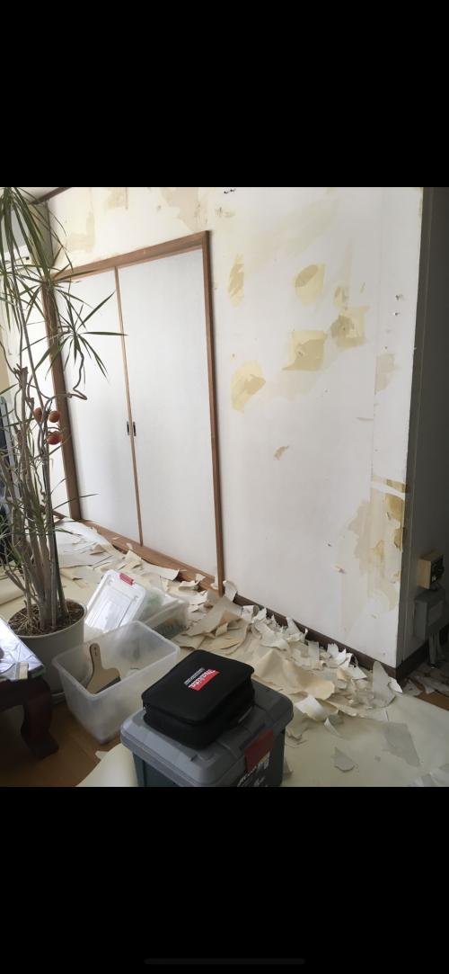 札幌市リフォーム工房楽人 在宅での工事
