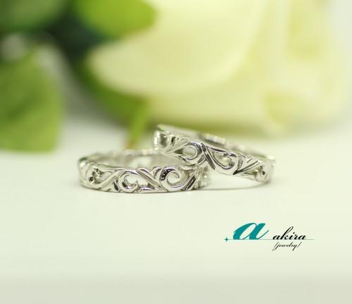 豊島区からオリジナルの結婚指輪のご注文でした