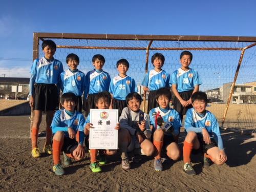 栃木県サクラカップU-12大会優勝!